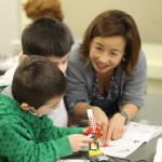 LEGO Mentor and Students
